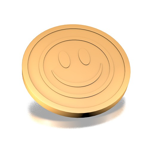 29 mm smiley beige